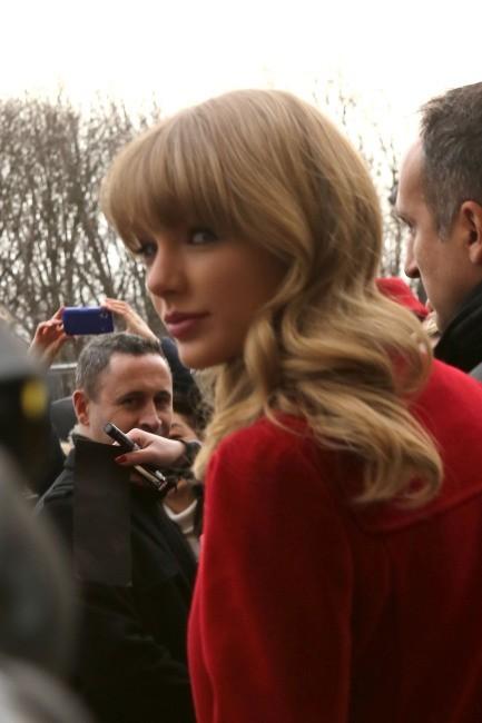 Taylor Swift, Paris, 28 janvier 2013.