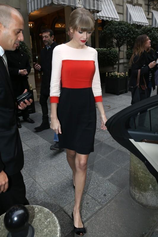 Taylor Swift le 9 novembre 2012 à Paris