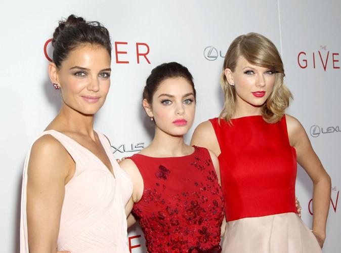 Katie Holmes, Odeya Rush et Taylor Swift