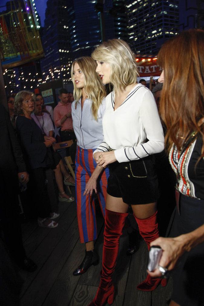 Taylor Swift au défilé Tommy Hilfiger le 9 septembre