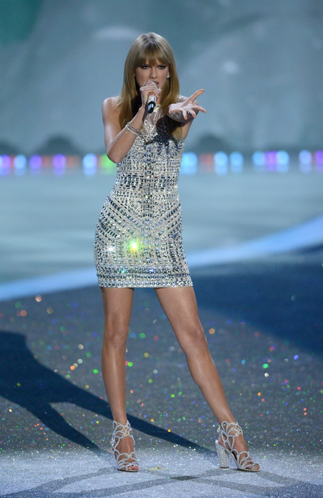 Taylor Swift au Victoria's Secret Fashion Show, à New-York, le 13 novembre 2013