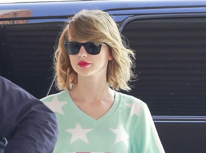 Photos : Taylor Swift : patriote même pour aller à la gym, elle affiche ses jambes interminables !