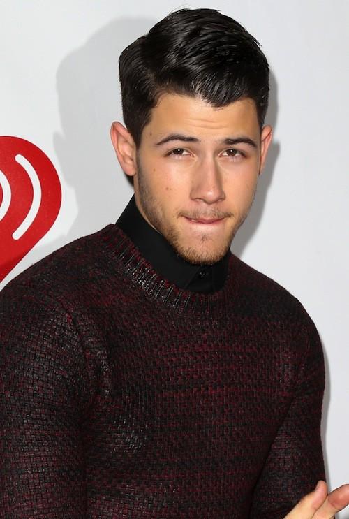 Nick Jonas au Jingle Ball 2014 à New York, le 12 décembre 2014