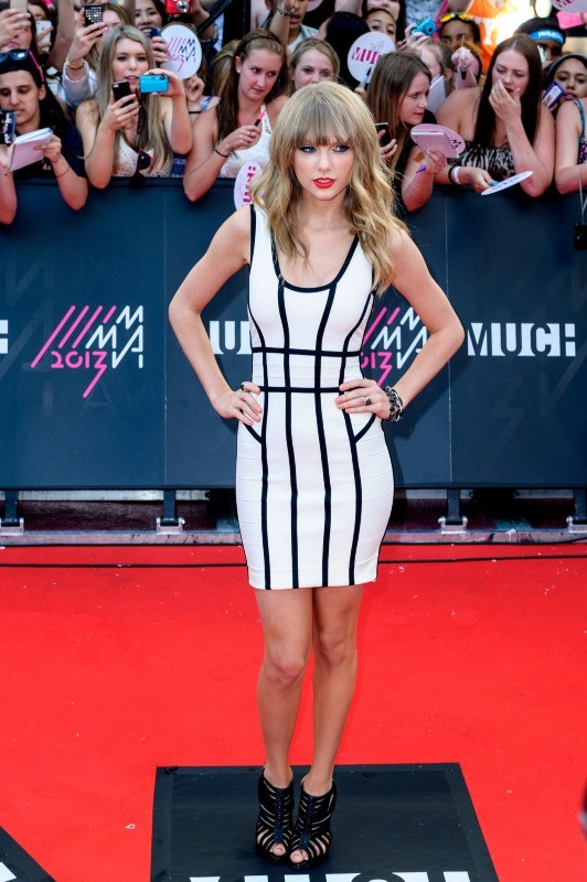 Taylor Swift lors de la cérémonie des MuchMusic Video Awards 2013 à Toronto, le 16 juin 2013.