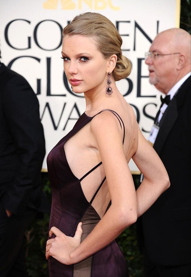 Un side boob révélateur aux derniers Golden Globes !
