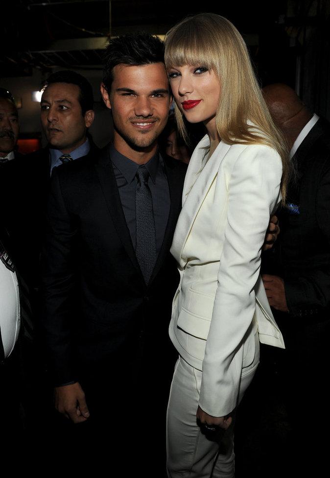 Taylor Lautner et Taylor Swift