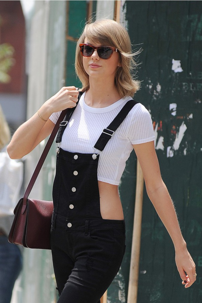 Photos : Taylor Swift : super girly même pour sa séance de gym !