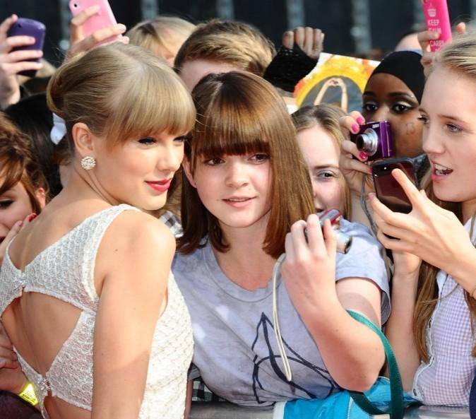 Taylor Swift le 7 octobre 2012 à Londres
