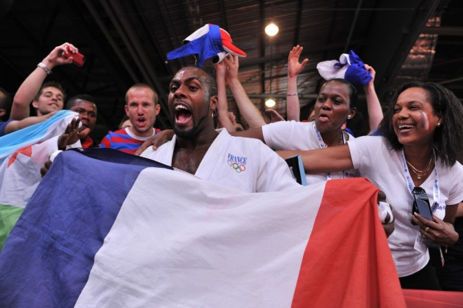 Teddy Riner, Champion Olympique, Londres, 3 aout 2012.