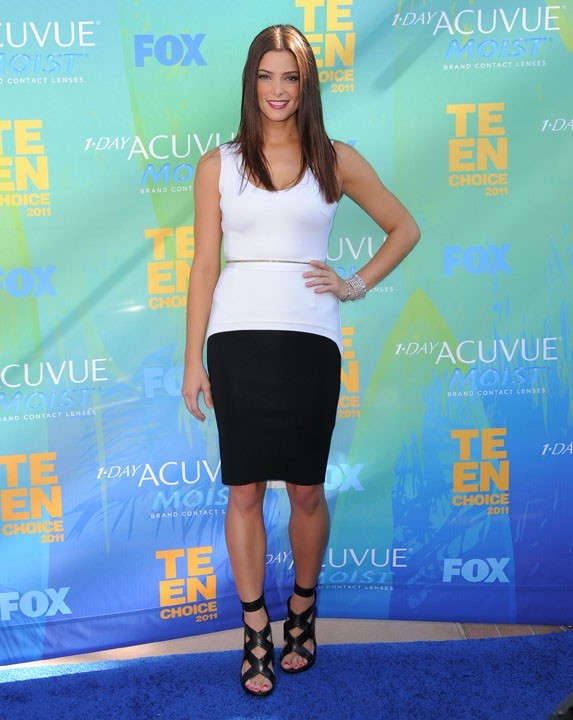 Aslhey Greene lors des Teen Choice Awards 2011 à Los angeles, le 7 août 2011.