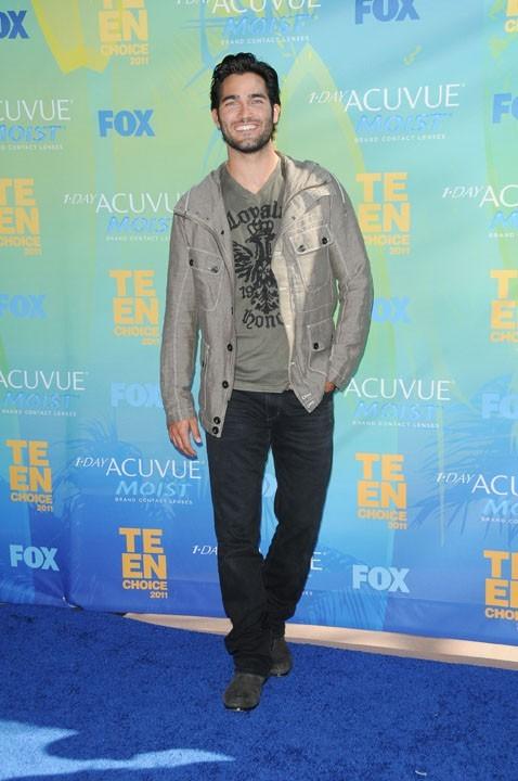 Tyler Hoechlin lors des Teen Choice Awards à Los Angeles, 7 août 2011.
