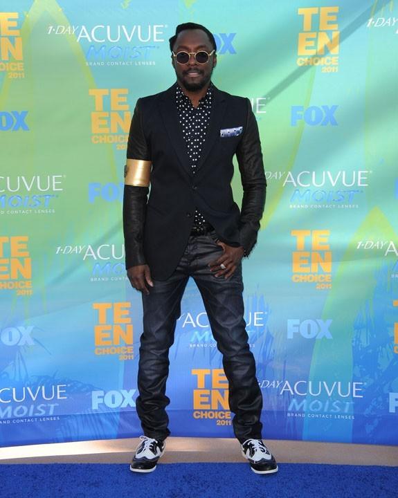 Will.i.am lors des Teen Choice Awards à Los Angeles, 7 août 2011.