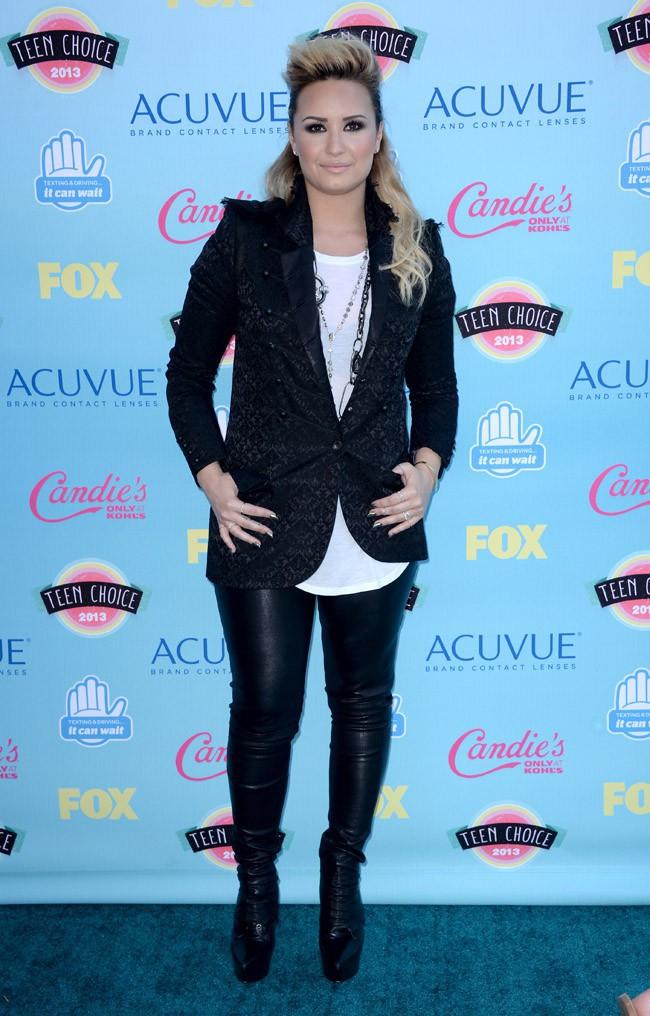 Demi Lovato aux Teen Choice Awards 2013, à Los Angeles, le 11 août 2013
