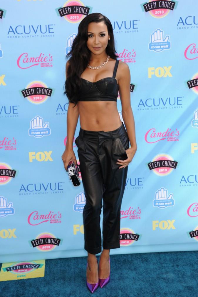 Naya Rivera lors des Teen Choice Awards à Los Angeles, le 11 août 2013.