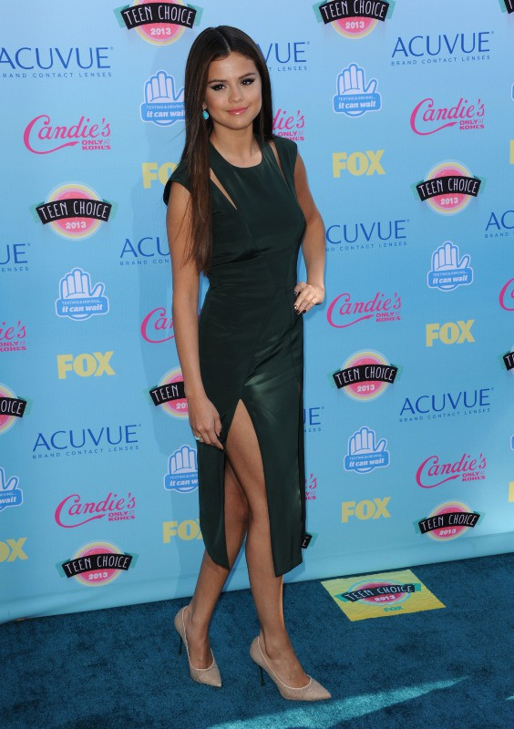 Selena Gomez lors des Teen Choice Awards à Los Angeles, le 11 août 2013.