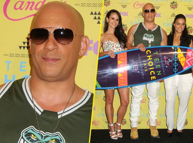Vin Diesel, Michelle Rodriguez et Jordana Brewster le 16 août 2015