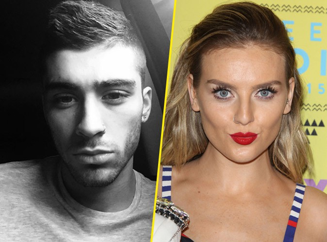 Zayn Malik, Perrie Edwards et les Little Mix le 16 août 2015