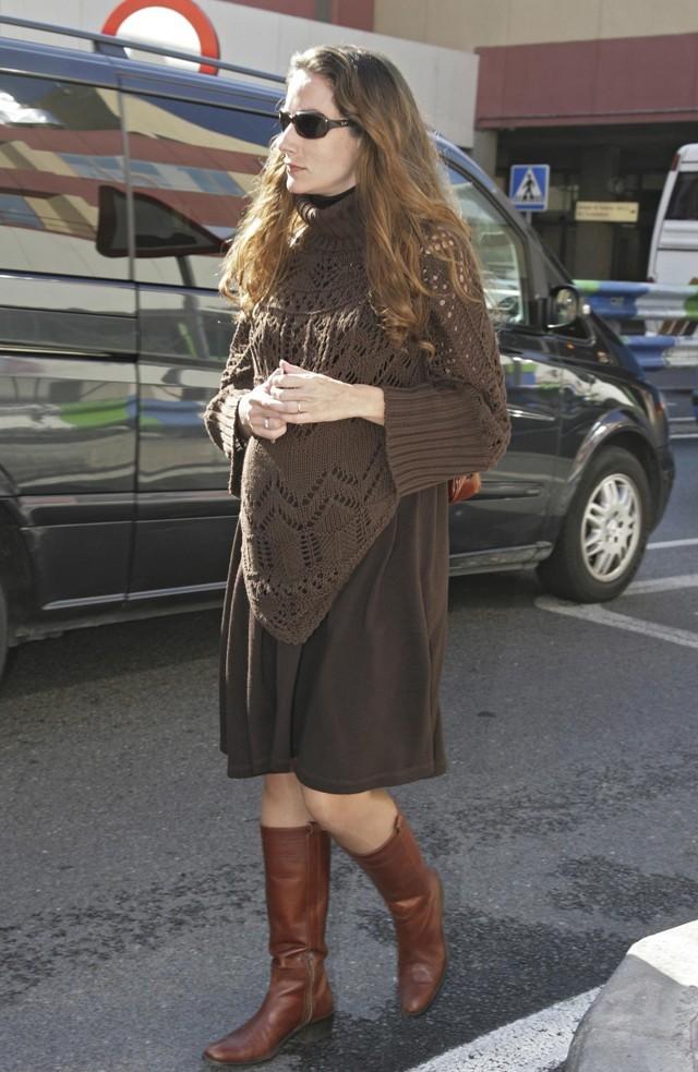 Telma en 2008, alors qu'elle était enceinte...