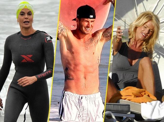 Photos : Teri Hatcher, David Beckham, Victoria Silvstedt... comment se faire mousser à la plage en 6 leçons !