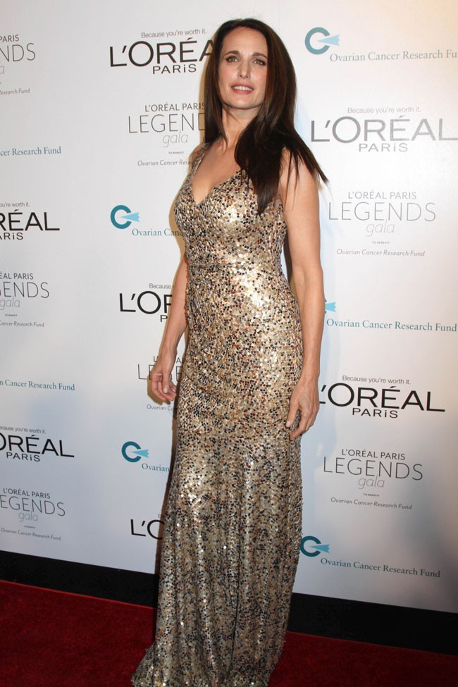 Andie MacDowell, 53 ans et toujours sublime !