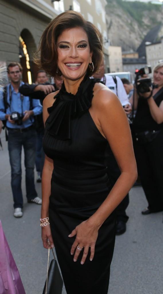 Teri Hatcher, Salzburg Music Festival en Autriche, 30 juillet 2012
