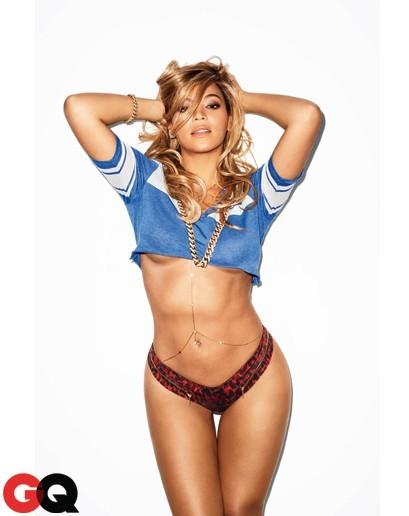 Beyoncé photographiée par Terry Richardson pour GQ