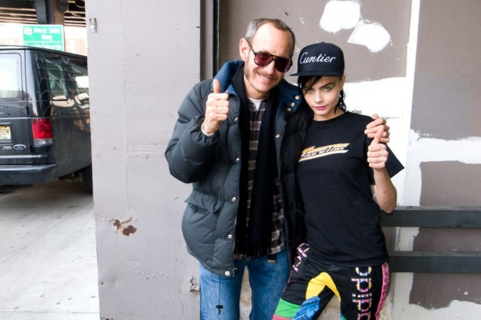 Terry Richardson et Cara Delevingne