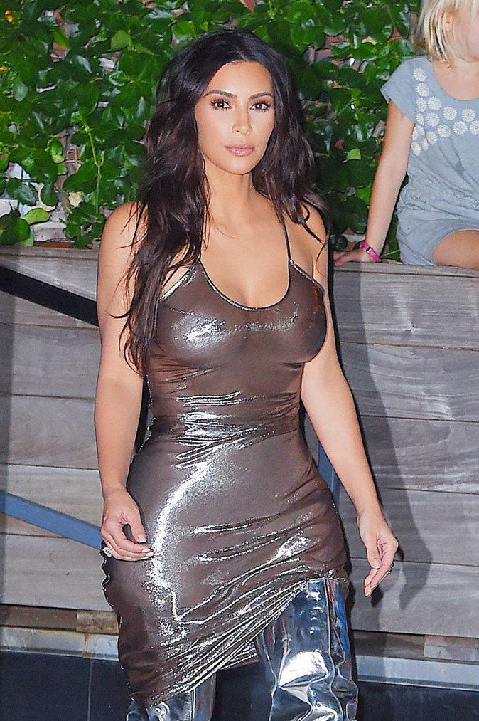 Kim Kardashian à New York le 6 septembre 2016