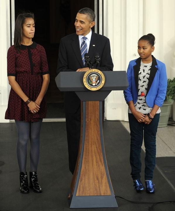 Le président Obama lors de la traditionnelle cérémonie de Thanksgiving