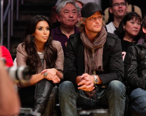 Kim Kardashian et Gabriel Aubry