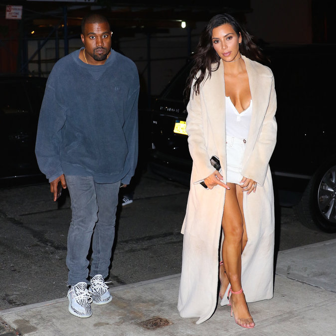 Kim Kardashian et son mari Kanye West