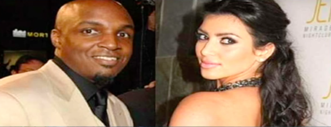 Kim Kardashian et son premier mari Damon Thomas