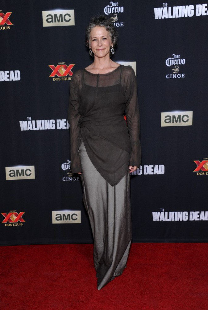 Melissa McBride à Los Angeles le 2 octobre 2014
