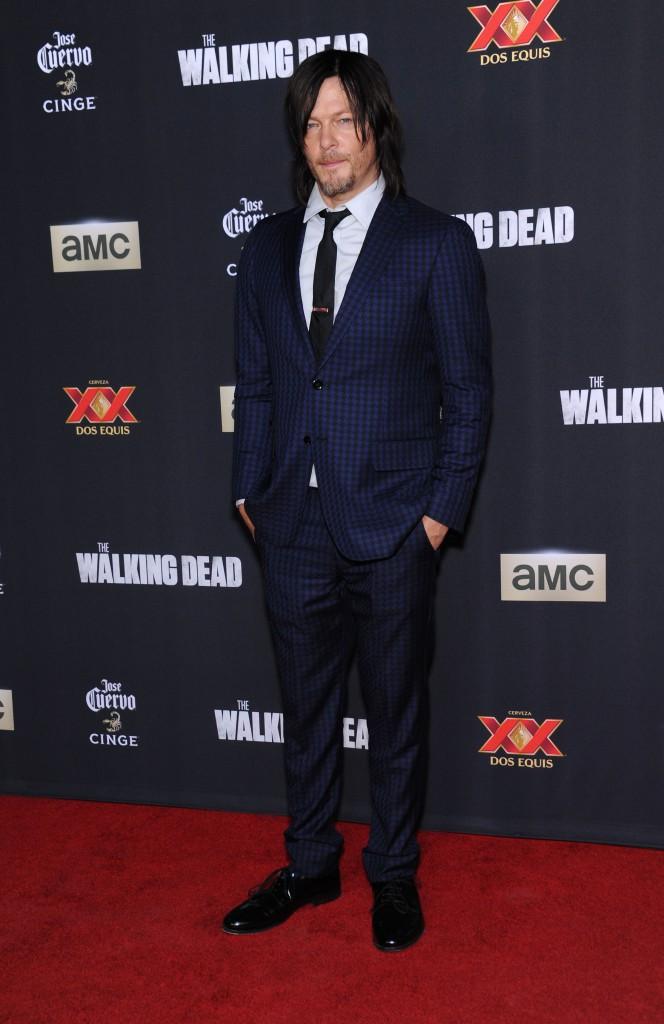 Norman Reedus à Los Angeles le 2 octobre 2014