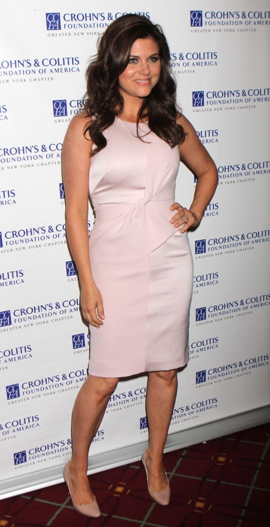 Tiffani Thiessen lors de la soirée Women of Distinction Awards Luncheon, le 1er mai 2012.