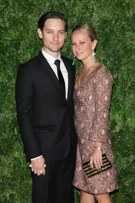 Tobey Maguire et sa femme Jennifer Meyer le 13 novembre 2012 à New York
