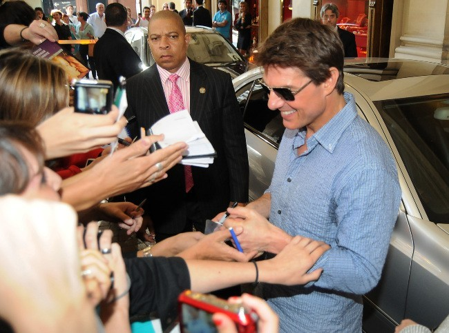 Tom Cruise, Buenos Aires, 26 mars 2013.