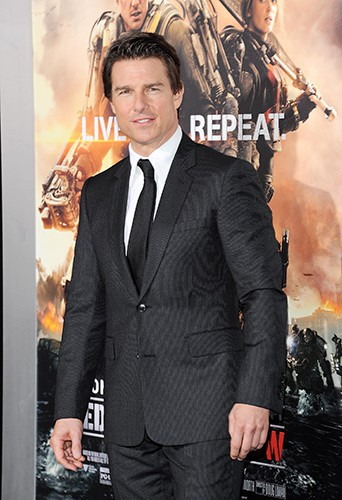 Tom Cruise à New York le 28 mai 2014