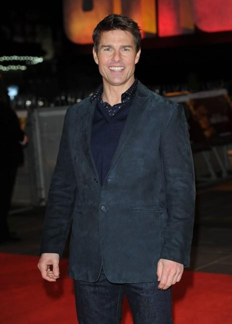 Tom Cruise le 10 décembre 2012 à Londres