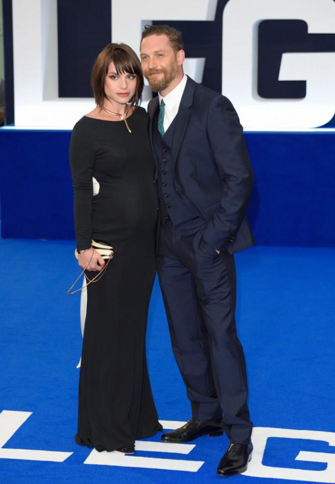 Tom Hardy et Charlotte Riley le 3 septembre 2015