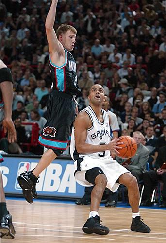 Tony Parker et les Spurs !