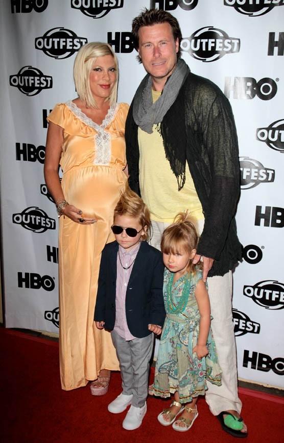 Les enfants de Tori Spelling et Dean McDermott,  Liam et Stella, so fashion !