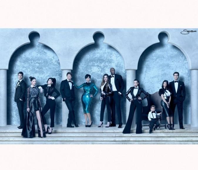 La carte de voeux 2011 des Kardashian !