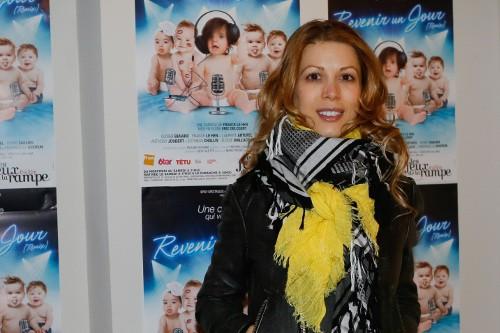 Tristane Banon à Paris le 26 mars 2015