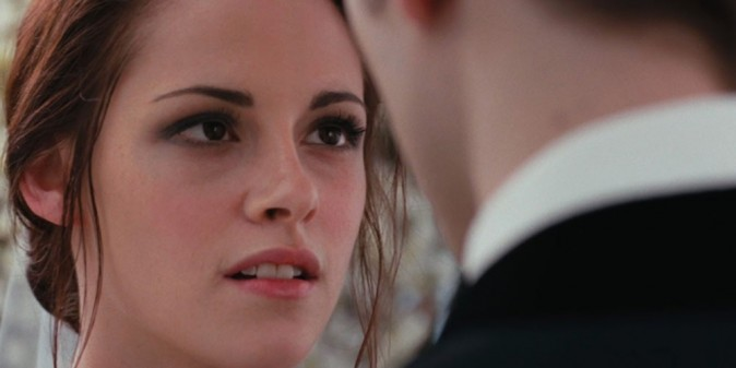 Bella (Kristen Stewart), le plus beau jour de sa vie !