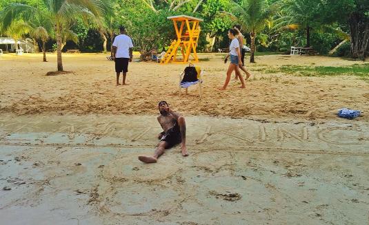 Tyga en Jamaïque