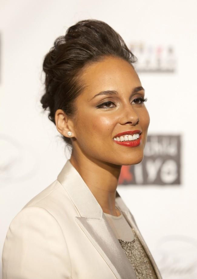 Alicia Keys, hôtesse de la soirée !
