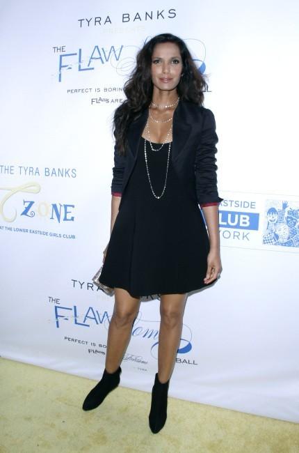 Padma Lakshmi lors du Flawsome Ball à New York, le 18 octobre 2012.
