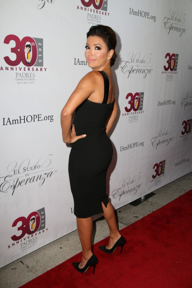 Eva Longoria à Los Angeles le 17 septembre 2015