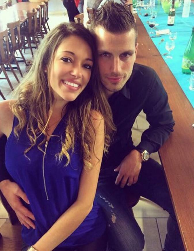 Morgan Schneiderlin et Camille Soldidaa